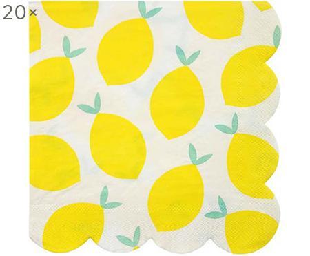 Servilletas de papel Lemon, 20uds.