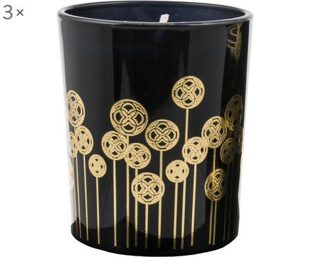 Vonná svíčka Pamakkule (lilie, růže & pomerančový květ), 3 ks