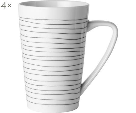 Tasses XL Eris Loft, 4 pièces