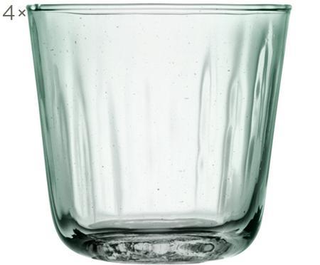 Wassergläser Mia mit Relief, 4er-Set