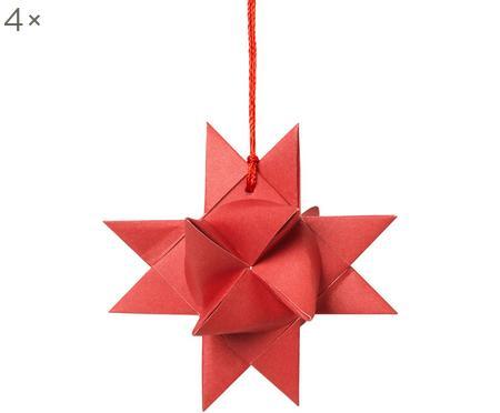 Baumanhänger Star Origami, 4 Stück