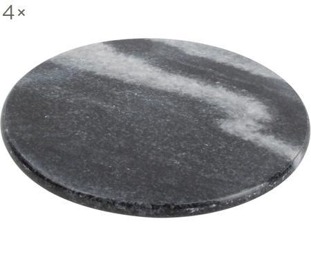Marmeren onderzetters Aster, 4 stuks