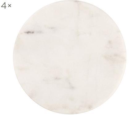 Marmor-Untersetzer Guda, 4 Stück
