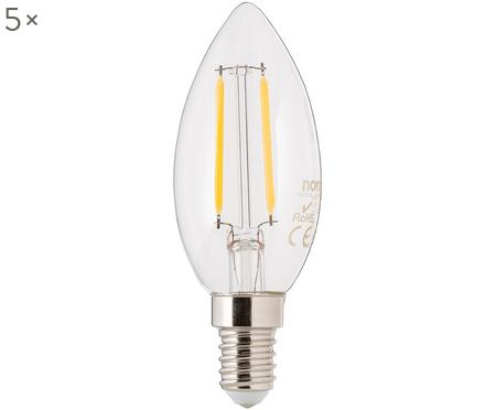 Ampoules LED Vel (E14-2,5W), 5pièces