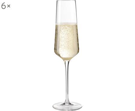 Sekt- und Champagnergläser Puccini, 6er-Set