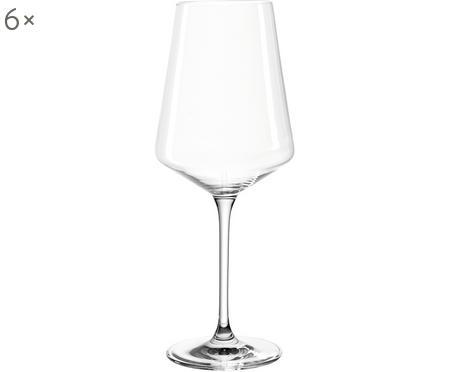 Verres à vin blanc modernes Puccini, 6pièces