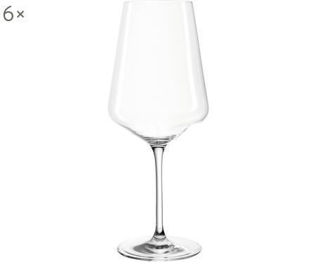 Set 6 bicchieri vino rosso Puccini