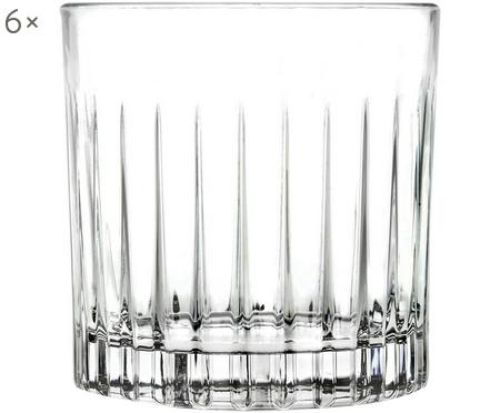 Vasos old fashioned de cristal Timeless, 6 uds.