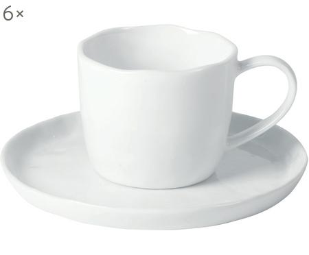 Set tazze in porcellana Porcelino 12 pz