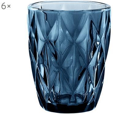 Vasos con relieve Diamond, 6uds.