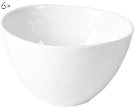Ciotola Porcelino con superficie irregolare 6 pz
