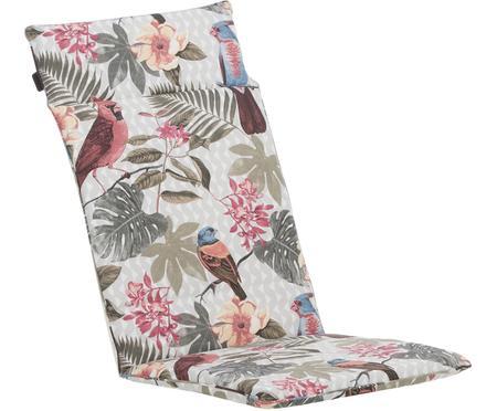Hochlehner-Stuhlauflage Faya mit tropischem Print