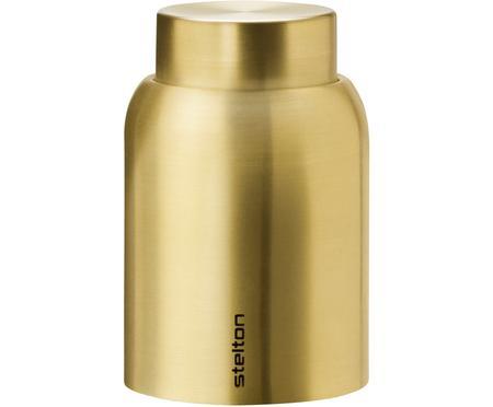 Vakuum-Flaschenverschluss Collar in Gold