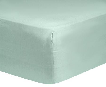 Drap-housse en satin de coton Comfort