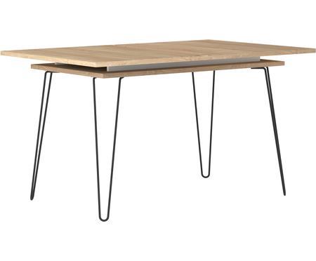 Table extensible avec pieds en métal Aero
