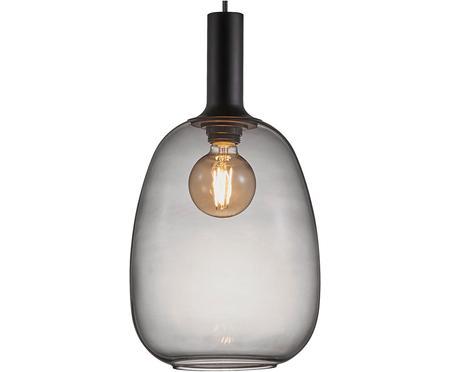 Lampada a sospensione in vetro Alton