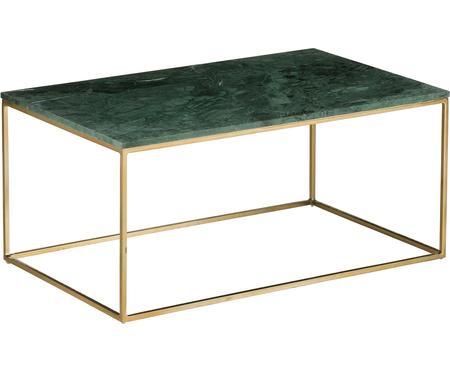 Tavolino da salotto con piano in marmo Alys