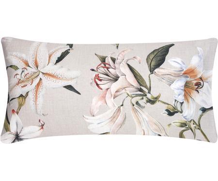 Poszewka na poduszkę z satyny bawełnianej Flori, 2 szt.