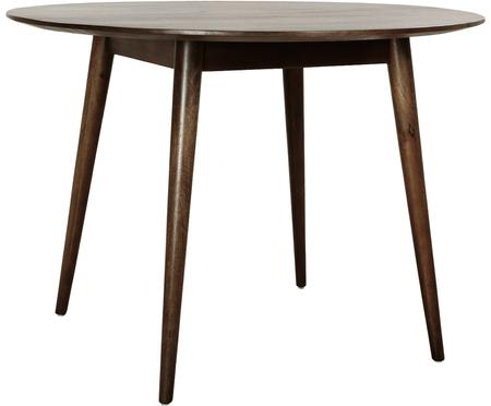 Tavolo rotondo in legno massello Oscar