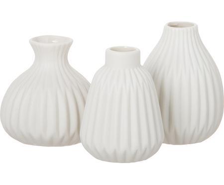Set 3 vasi in porcellana Esko