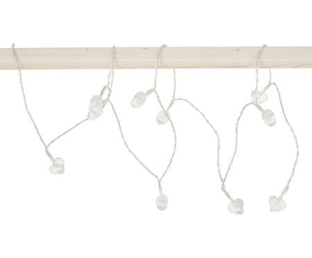 LED-Lichterkette Heart, 135 cm, 10 Lampions