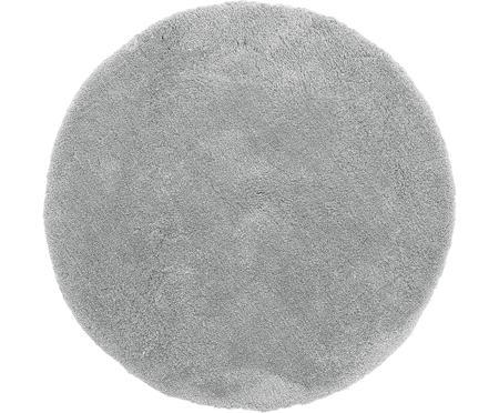 Tappeto peloso rotondo grigio scuro Leighton