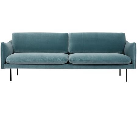 Canapé en velours Moby (3places)