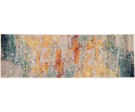 Tapis de couloir design jute multicolore Celestial