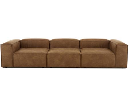 Modulares Leder-Sofa Lennon (4-Sitzer)