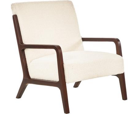 Teddy-Sessel Naja mit Armlehnen aus Eichenholz