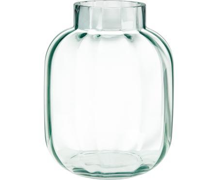 Vase en verre vert clair Betty