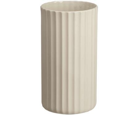 Handgefertigte Vase Yoko aus Porzellan