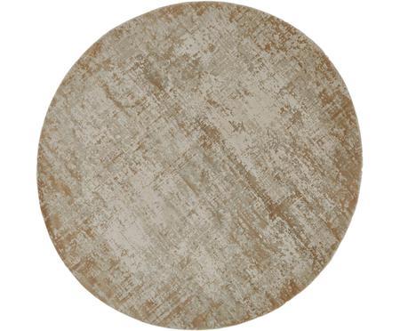 Runder Vintage Teppich Cordoba, schimmernd