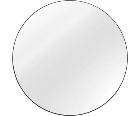 Espejo de pared redondo Ada con marco azul