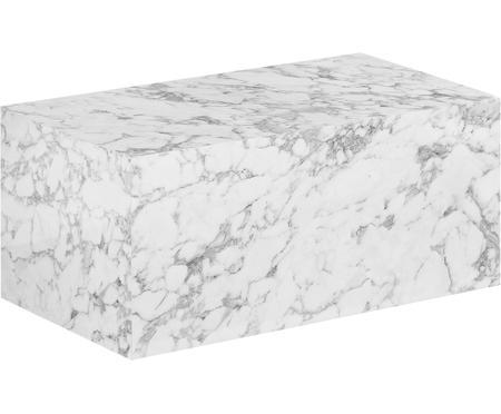 Tavolino da salotto effetto marmo Lesley