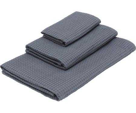 Komplet ręczników z piki Karima, 3 elem.