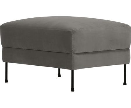 Poggiapiedi da divano in velluto Fluente