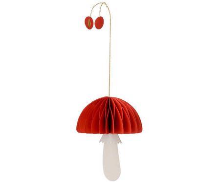 Adorno navideño Mushroom, 2uds.