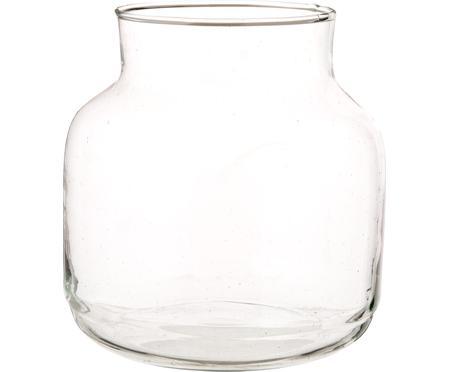 Mundgeblasene Vase Dona aus recyceltem Glas