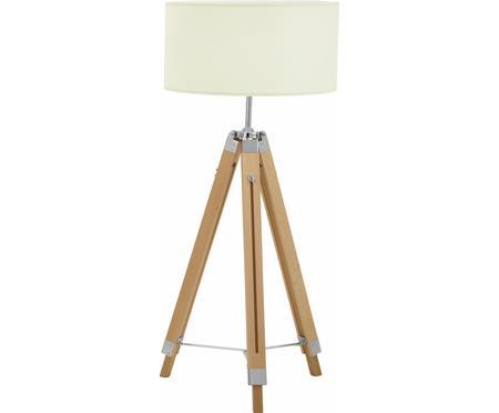 Höhenverstellbare Stehlampe Josey aus Holz