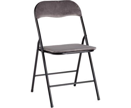 Krzesło składane z aksamitu Amal