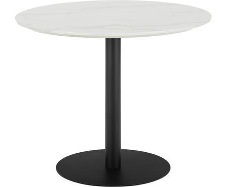 Tavolo rotondo effetto marmo Karla