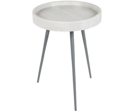 Table d'appoint en marbre, ronde Karrara
