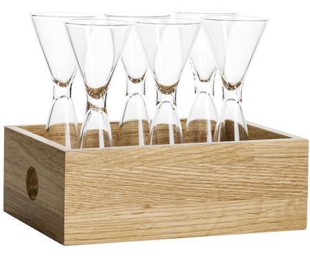 Set de vasos chupitos Semon, 7pzas.