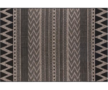 In- & Outdoor-Teppich Sidon mit grafischem Muster
