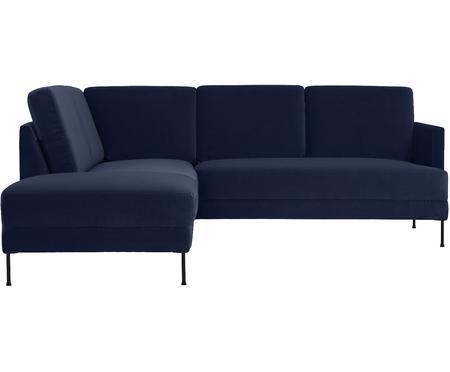 Canapé d'angle velours Fluente