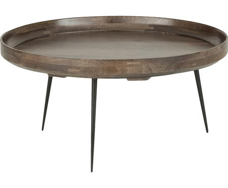 Design-Couchtisch Bowl Table aus Mangoholz