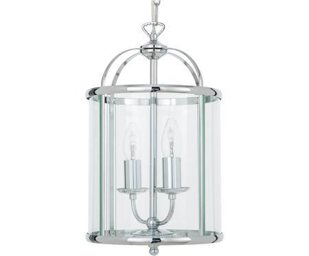 Lampada a sospensione in vetro Budgie