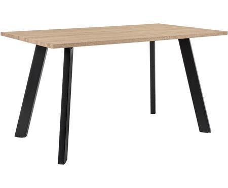 Tavolo con piano in rovere Henry
