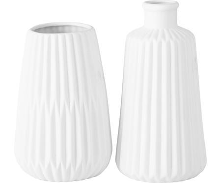 Vasen-Set Esko aus Porzellan, 2-tlg.